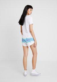 Fila - BRIANNA  - Shorts - bright white/blue curacao - 2