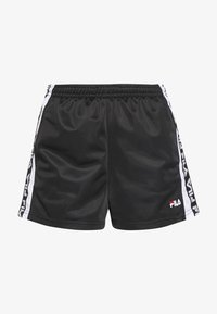 Fila - TARIN - Shorts - black/bright white - 3