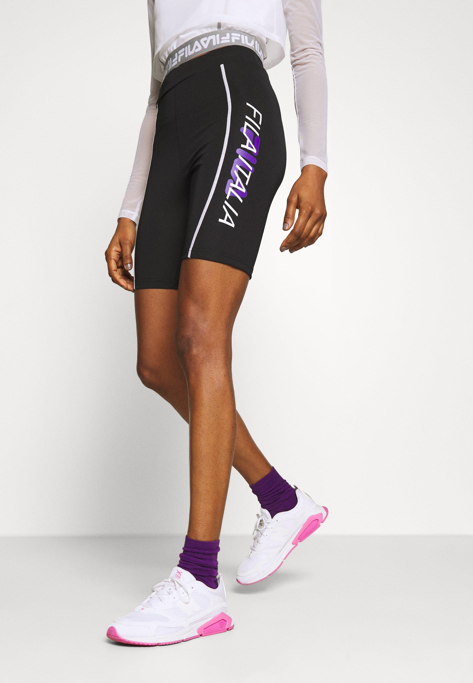 Fila CYCLING TIGHT - Szorty - black