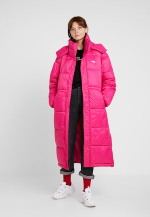KATSUKO PUFF JACKET - Winter coat - pink yarrow