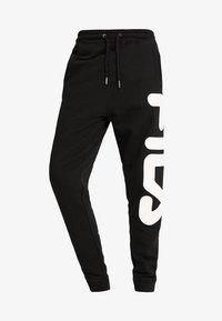 Fila - PURE BASIC PANTS - Verryttelyhousut - black - 4