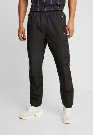 HELLER FUNCTIONAL PANT - Teplákové kalhoty - black