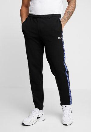 USMAN  - Tracksuit bottoms - black