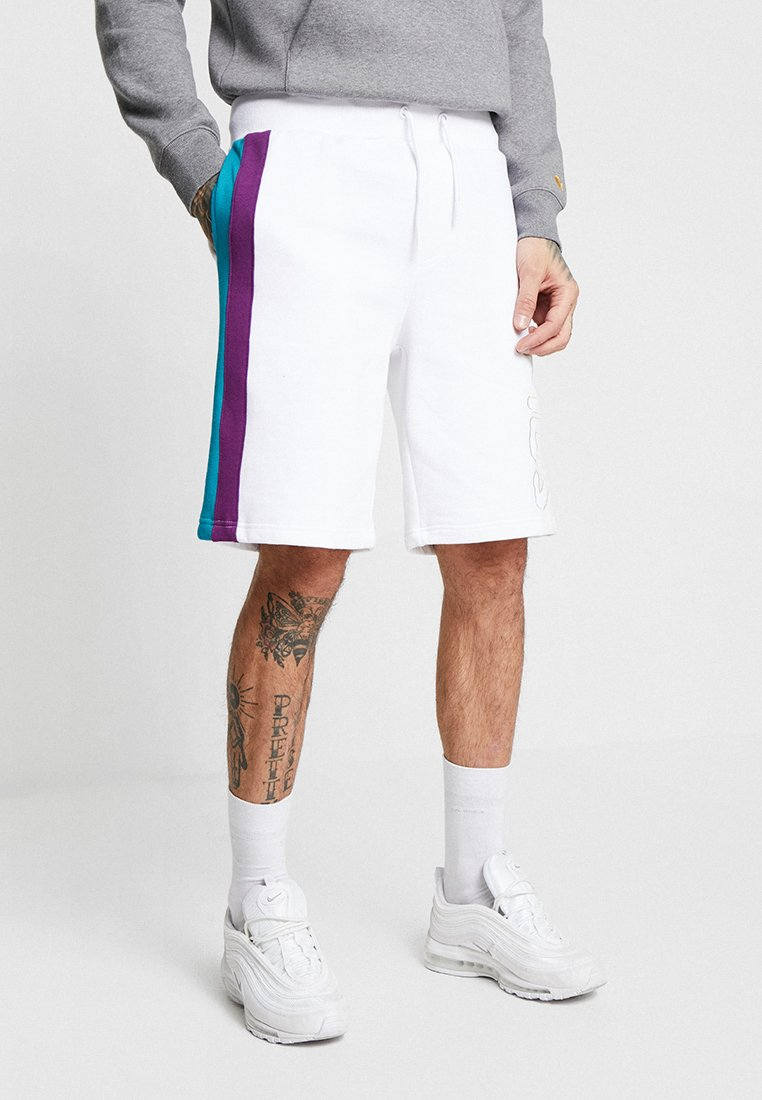 Fila - AJAY WITH LAY ON STRIPES - Shorts - white