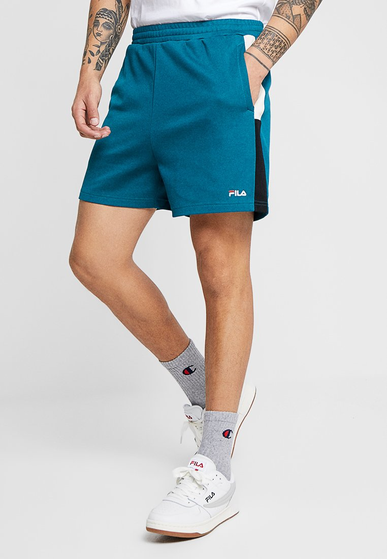 Fila - CARLOS - Shorts - shaded spruce/black/whitecap gray