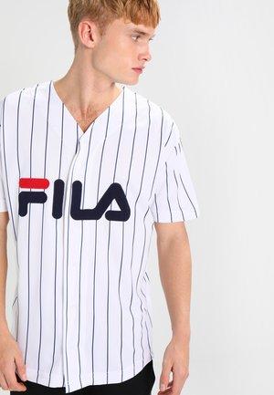 DAWN BASEBALL - T-shirt imprimé - bright white
