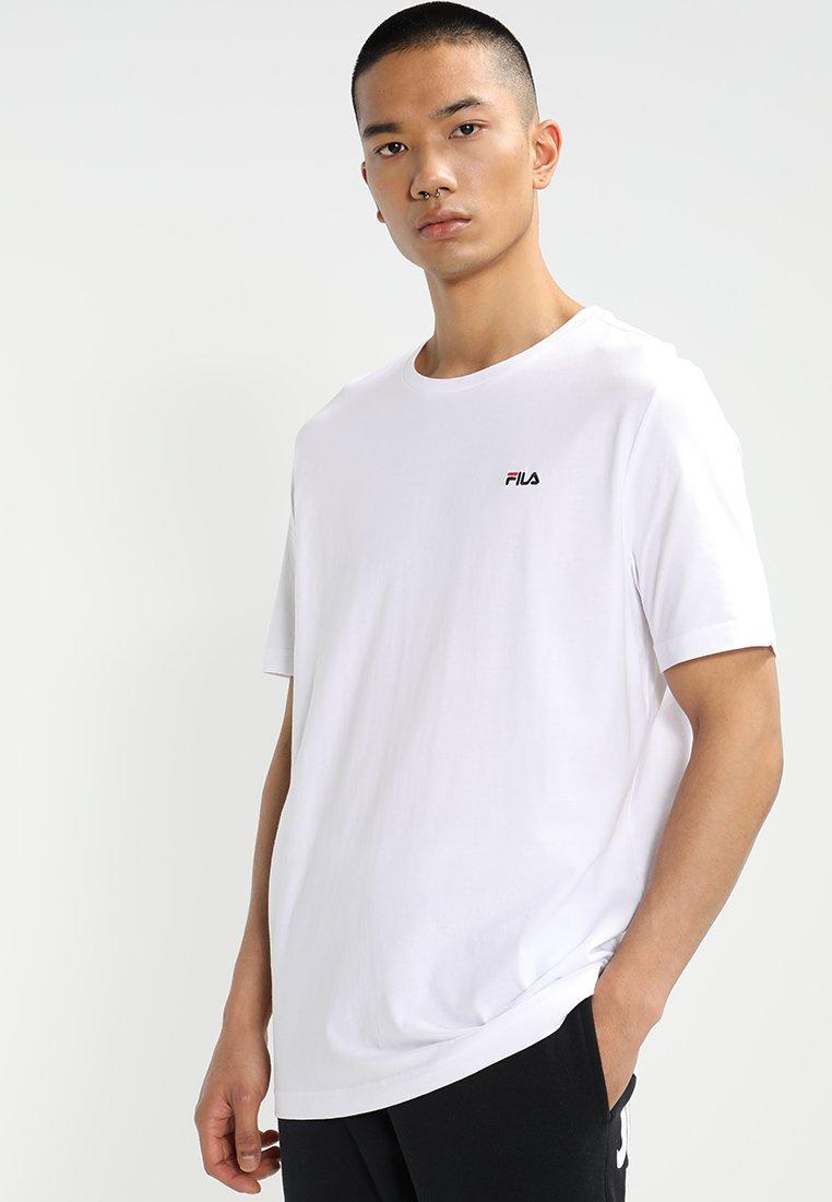 Fila - UNWINDE TEE - Basic T-shirt - bright white