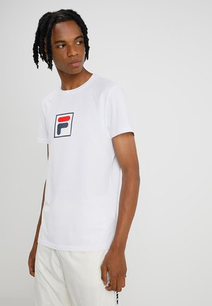 EVAN TEE  - T-shirt print - bright white