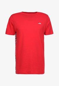 Fila - TALAN TEE - Camiseta estampada - true red - 3