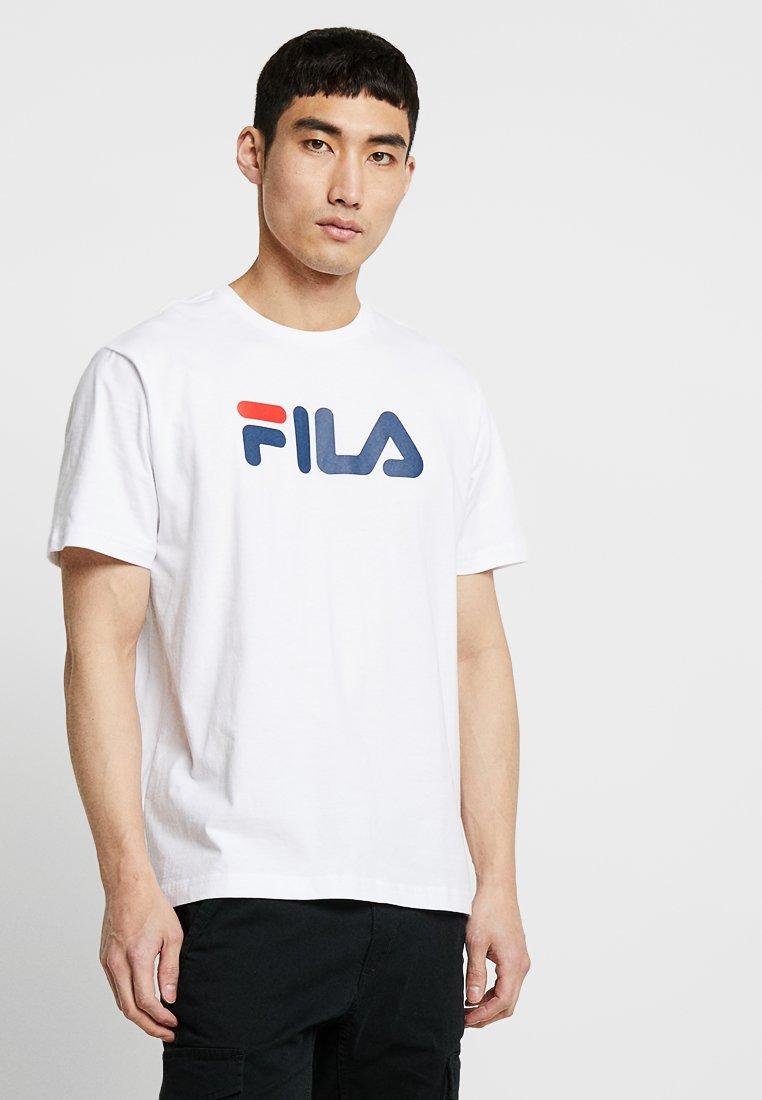 Fila - PURE SHORT SLEEVE - Print T-shirt - bright white