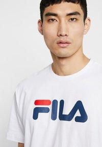 Fila - PURE - Triko spotiskem - bright white - 3