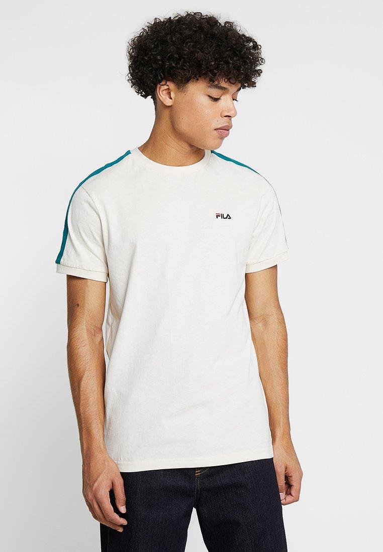 Fila - SALUS TEE - T-Shirt print - whitecap gray/shaded spruce