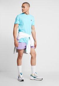 Fila - SEAMUS TEE - T-shirt med print - blue curacao - 1
