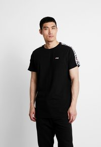 Fila - VAINAMO TEE - T-shirt imprimé - black - 0