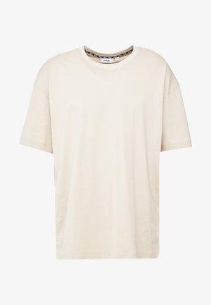 FILA FOR WEEKDAY KIAN - T-shirt basic - oxford tan