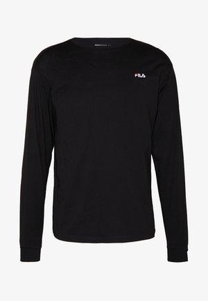 EITAN - Maglietta a manica lunga - black