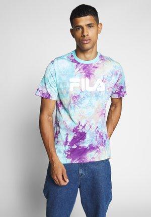 PURE - T-shirt imprimé - lilac batik