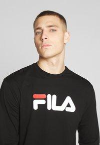 Fila - PURE - Pitkähihainen paita - black - 4