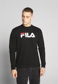 Fila - PURE - Pitkähihainen paita - black - 0