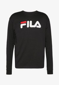 Fila - PURE - Pitkähihainen paita - black - 3