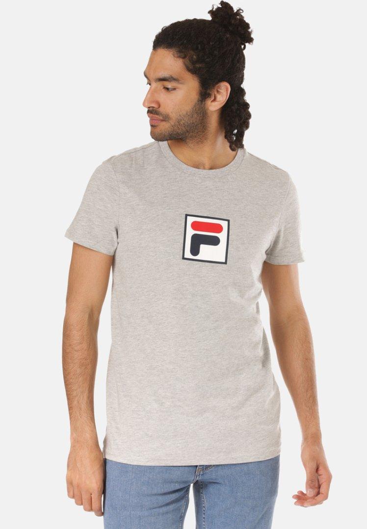 Fila - T-shirt imprimé - grey
