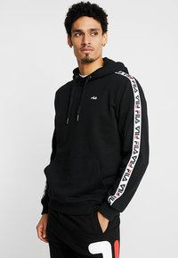 Fila - DAVID TAPE - Hoodie - black - 0