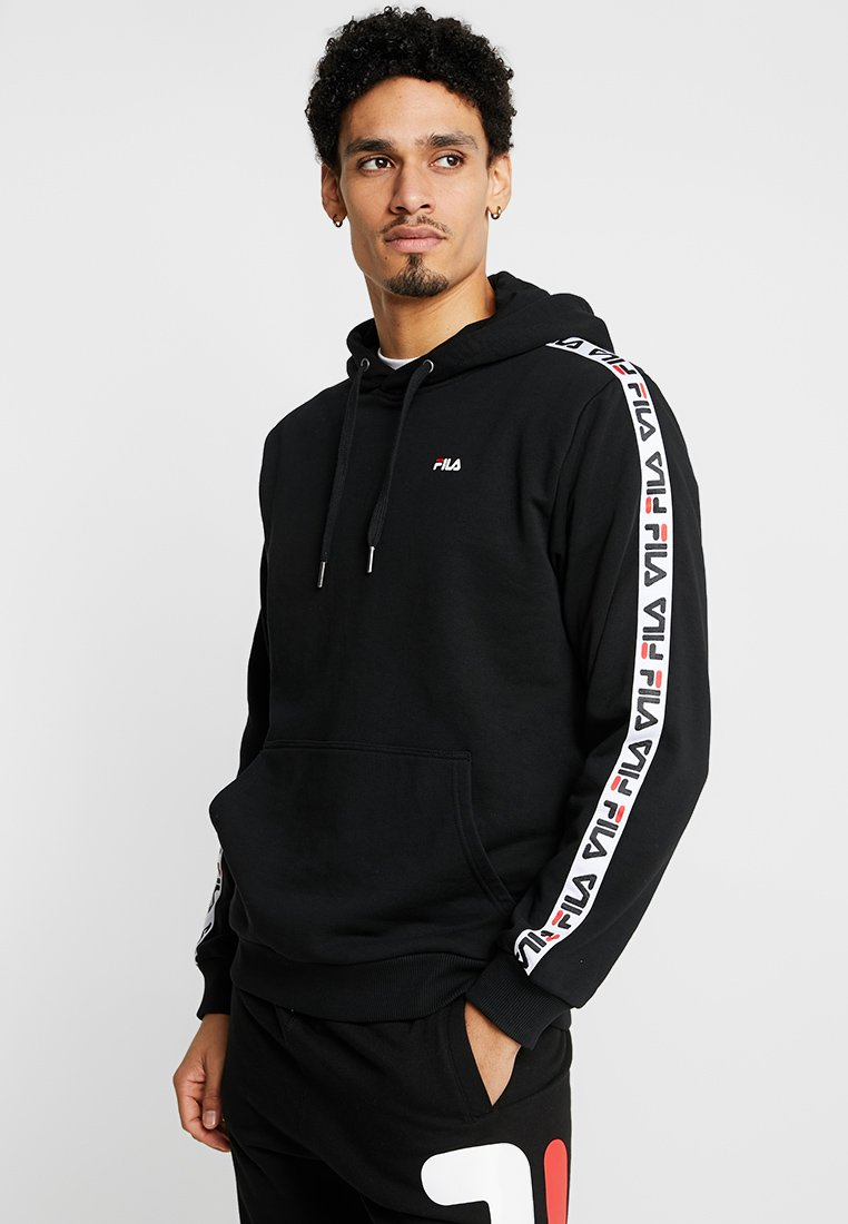 Fila - DAVID TAPE - Hoodie - black