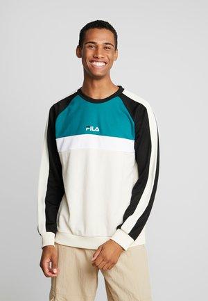 PAAVO CREW - Sweatshirt - whitecap gray/everglade/black/bright white