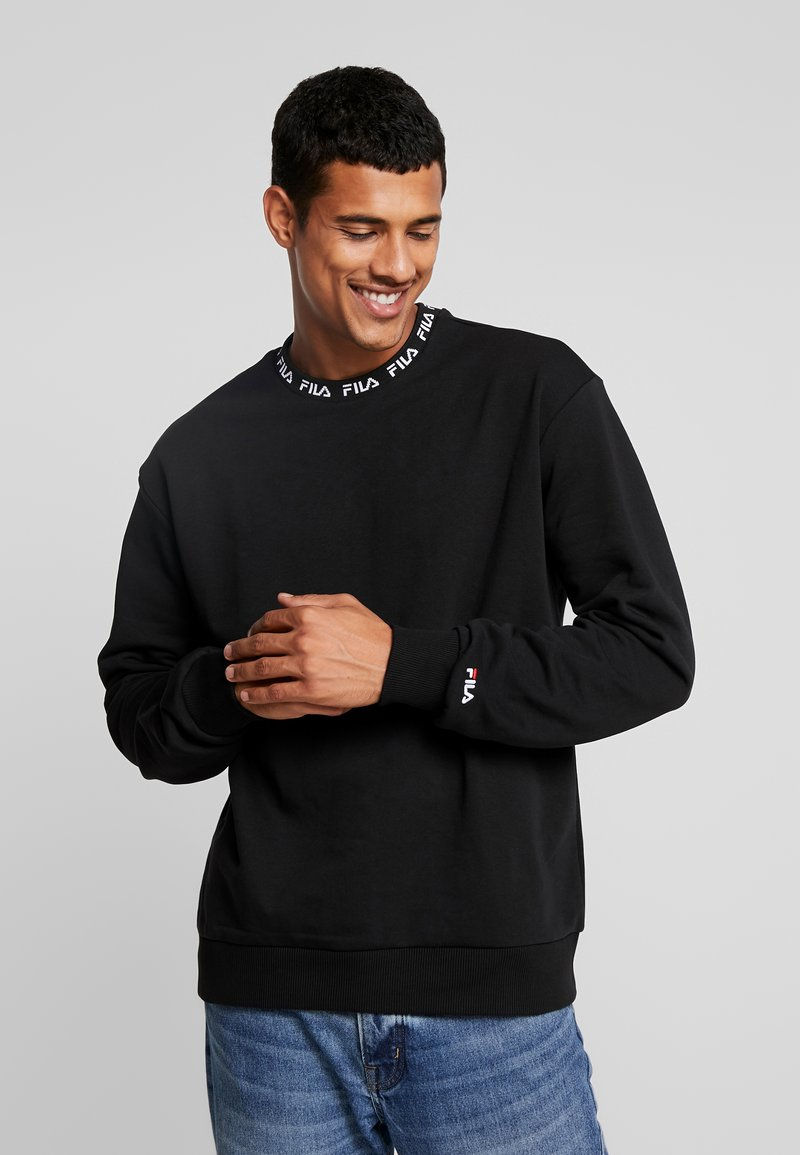 Fila - TOSHIRO CREW  - Sweatshirt - black