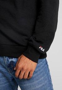 Fila - TOSHIRO CREW  - Sweatshirt - black - 5