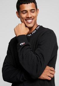 Fila - TOSHIRO CREW  - Sweatshirt - black - 3