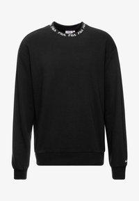 Fila - TOSHIRO CREW  - Sweatshirt - black - 4
