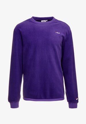 RENLY CREW SHIRT - Fleecepaita - tillandsia purple