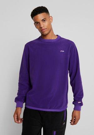 RENLY CREW SHIRT - Fleece trui - tillandsia purple
