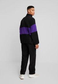 Fila - REIJO HALF ZIP - Fleece trui - black/tillandsia purple - 2