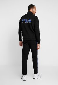 Fila - UDELL HALF ZIP SWEATER - Felpa - black - 2
