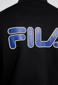 Fila - UDELL HALF ZIP SWEATER - Felpa - black - 6