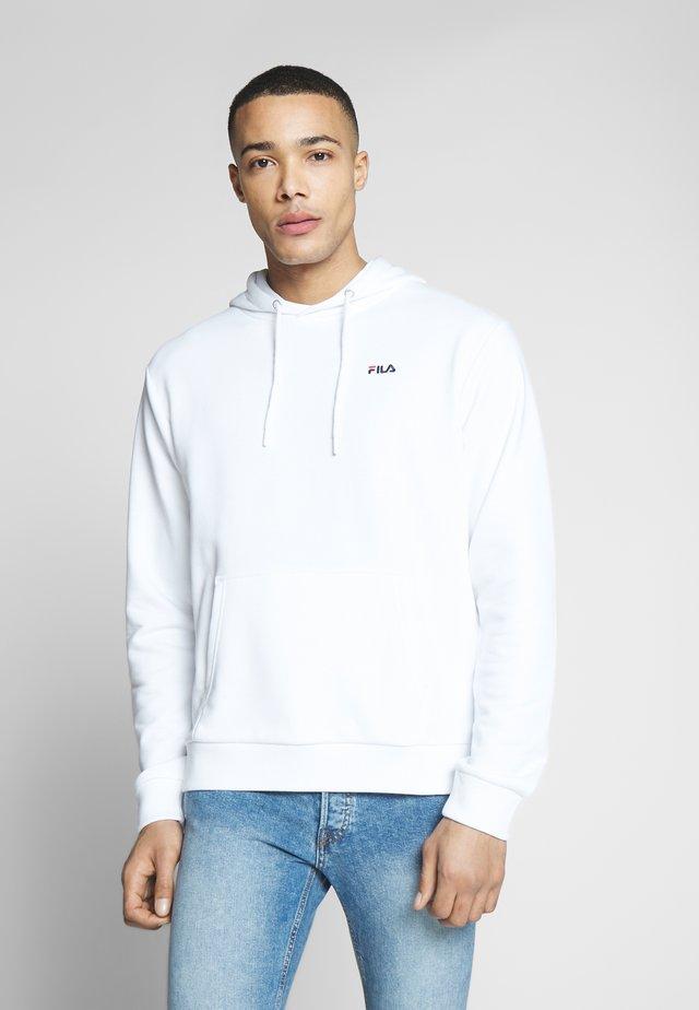 EDISON - Jersey con capucha - bright white