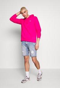 Fila - EDISON - Bluza z kapturem - pink yarrow - 1