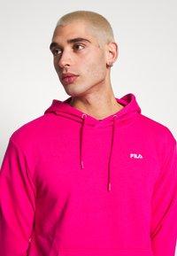 Fila - EDISON - Bluza z kapturem - pink yarrow - 3
