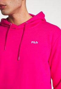 Fila - EDISON - Bluza z kapturem - pink yarrow - 5