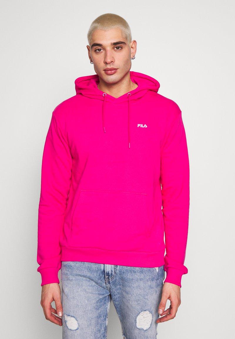 Fila - EDISON - Bluza z kapturem - pink yarrow