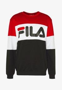 Fila - STRAIGHT - Felpa - true red/black/bright white - 3