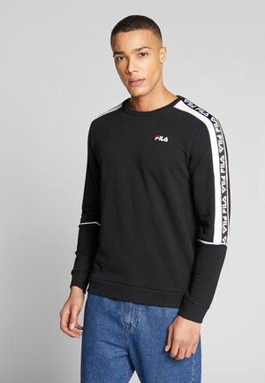 TEOM - Sudadera - black/bright white