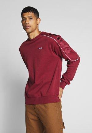 MAHAK - Sweatshirt - cabernet