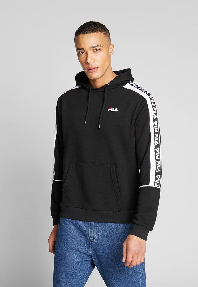 TEFO - Jersey con capucha - black/bright white