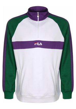 SWEATER BAYOU HALF-ZIP - Sweater - sh glade/br white/till purpl