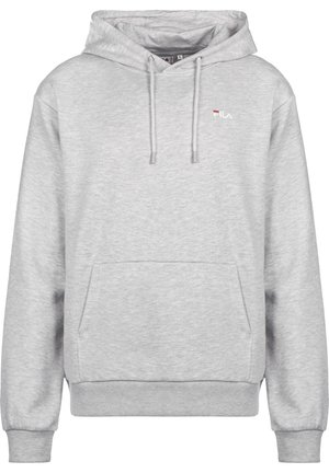 Hoodie - light grey melange bros