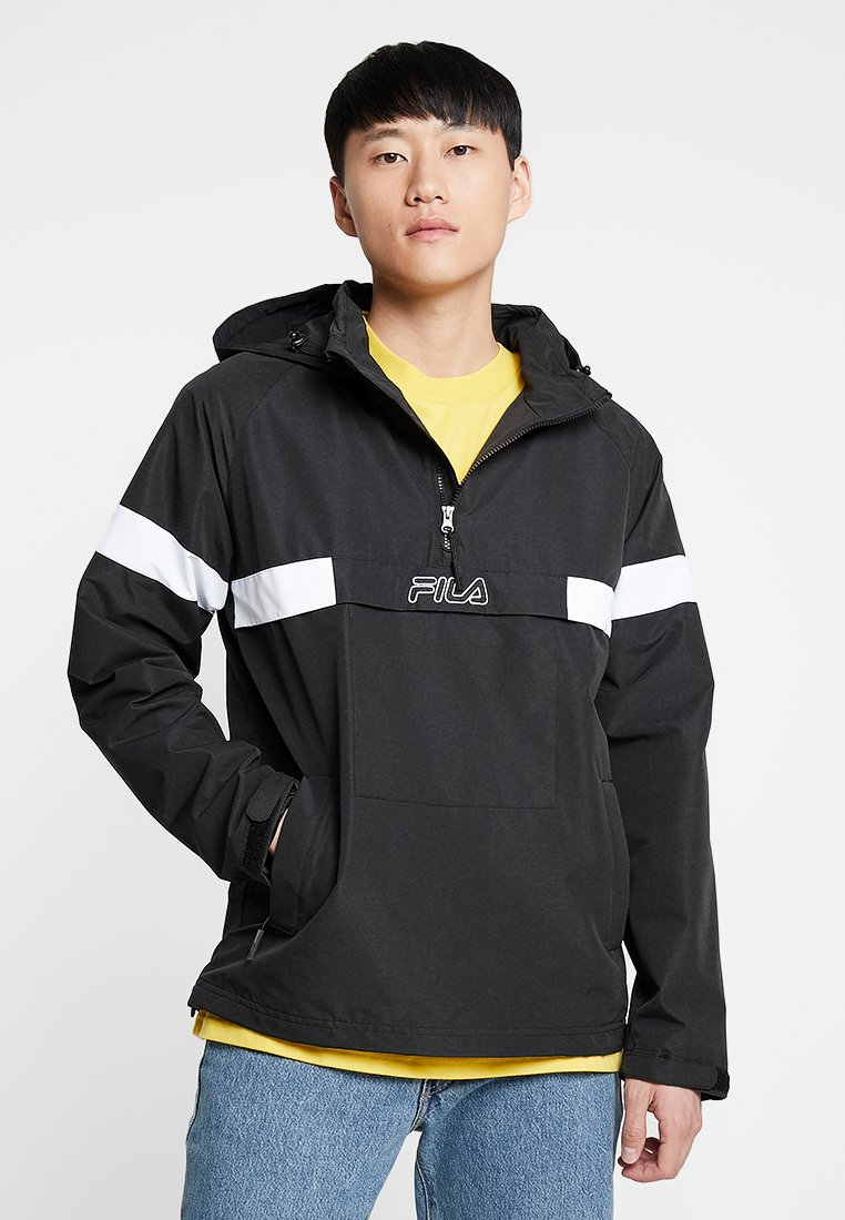 Fila - TIMMOTHY ANORAK - Windbreaker - black/bright white