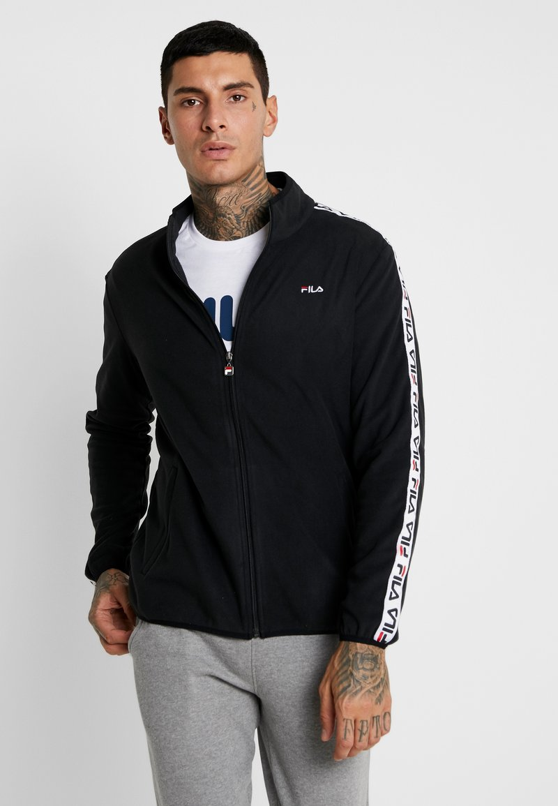 Fila - LUCIANO JACKET - Fleecejacka - black